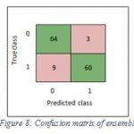 Figure 8: Confusion matrix of ensemble