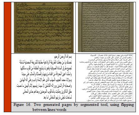 Arabic Calligraphy, Typewritten and Handwritten Using