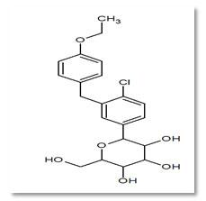 Fig: 2 Structure of Dapagliflozin