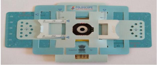 Fig 1: The Foldscope